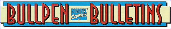 Marvel Comics Archive [Bullpen Bulletins]