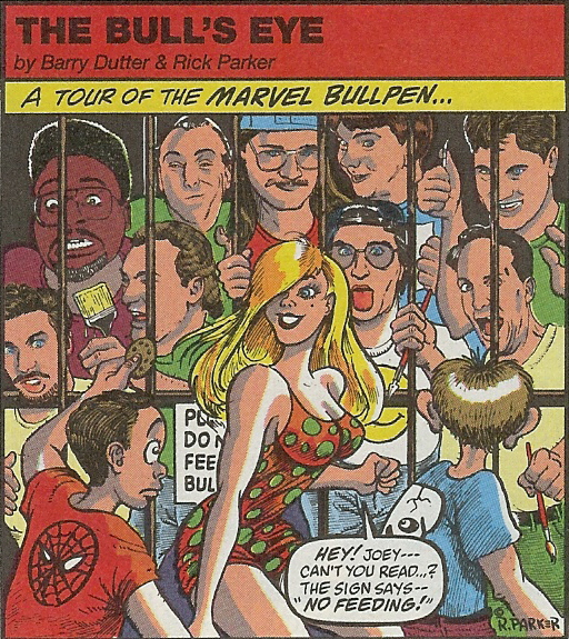 Marvel Comics Archive [Bullepen Bulletins]