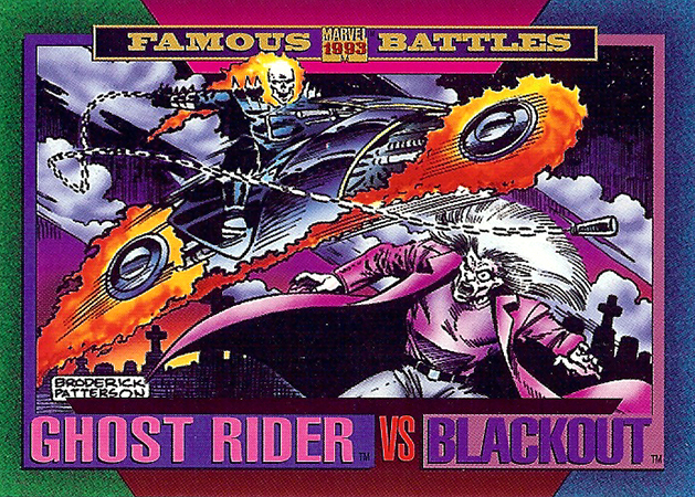 #159 - Ghost Rider vs Blackout