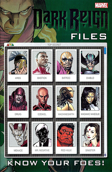 Dark Reign Files #1