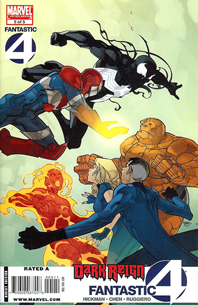 Dark Reign: Fantastic Four #5